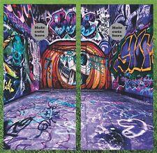 Graffiti Art Cornhole Wrap Set - Fast Shipping!!