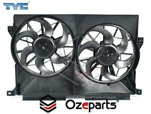 Ford Fairmont AU Twin Thermo Radiator Fan with motors 1998~2002