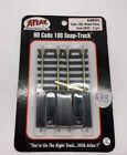 ATLAS HO SCALE BUMPERS 2 per pack NIKEL SILVER CODE 100 Item.843 Snap Track