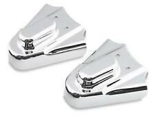 Harley FLSTF Softail Fat Boy 1990-2006Phantom Swingarm Covers Chrome by Kuryakyn