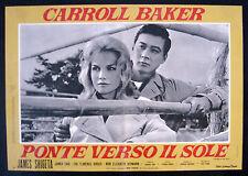 CINEMA-fotobusta PONTE VERSO IL SOLE c. baker,E. PERIER