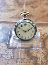 alte 800 Tula-Silber Damen-Taschenuhr mit schönem Uhrwerk (14)