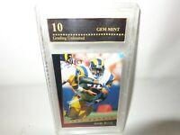 1993 Select Football #172 JEROME BETTIS Los Angeles Rams HOF-RC PSA 10 GEM MINT