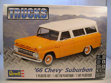 REVELL 1966 CHEVROLET SUBURBAN 1:25 SCALE PLASTIC MODEL TRUCK KIT