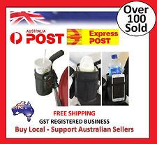 Baby Stroller Cup Holder Drink Bag Milk Bottle Phone Pram Golf Buggy Wheelchair