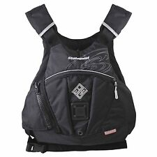 "Stohlquist EDGE Whitewater SUP Life Jacket PFD L/XL fits 40-46"" chest - BLACK"
