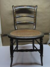 Antique 19th Century Chair Child/Doll Chair Hand Painted Cane Seat All Original & Cane Victorian Antique Chairs | eBay