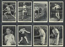 WILLS - BRITISH SPORTING PERSONALITIES - FULL SET OF 48 CARDS