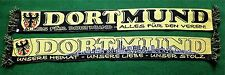 "Dortmund Schal ""ALLES FÜR DORTMUND"" Fan Ultra Kurve Block + 100 % Acryl + NEU +"