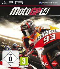 Sony PS3 Moto GP 14 2014 Motorrad WM Ring offizielles Video Spiel Game OVP TOP