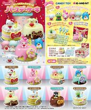 Re-Ment Miniature Sanrio Hello Kitty Birthday Cake Full set of 8 pcs