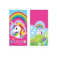 Regenbogen Einhorn Einladungskarten 8 Stück Kinder Geburtstag Invitation Unicorn