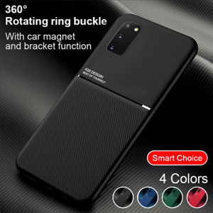 Pour Samsung Galaxy S20 FE 5G Etui Anti-choc Luxe Coque TPU Support Magnétique