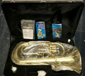 NEW Jupiter JEP468 3-Valve Euphonium With Case And Mouthpiece Oil and Manual NEW