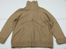 Zip Cotton Funnel Neck Jumpers & Cardigans for Women