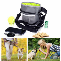 Dog Walking Training Treat Bag Waist Belt Snack Storage Pouch Poo Bags Dispenser