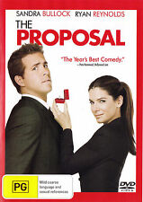 THE PROPOSAL Sandra Bullock / Ryan Reynolds DVD R4 - PAL