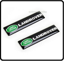 2x Land Rover Car Badge Emblem Sticker Door Side Wing Fender Rear Boot Trunk 72