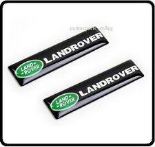 2x Land Rover Car Badge Emblem Sticker Door Side Wing Fender Rear Boot Trunk 72