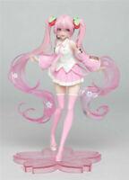 Anime Vocaloid Hatsune Miku Tell Your World Miku PVC Figure No Box 21cm