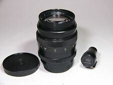 JUPITER-9 2/85mm #8800673 Portrait lens M39/L39 Leica screw mount & Viewfinder