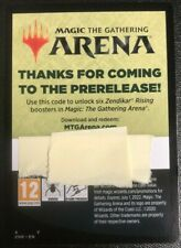 MTG Magic Arena Zendikar Rising Prerelease 6x Booster Pack Code