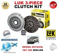 FOR SKODA OCTAVIA 1Z3 1Z5 1.9 2.0 TDi 16V 4X4 2004-ON CLUTCH KIT LUK 3 PIECE