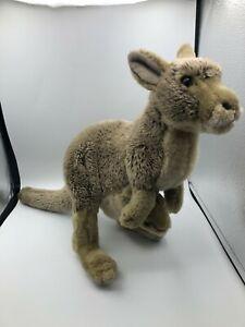 Another Korimco Friend Australian Kangaroo Realistic Plush Stuffed Toy Animal