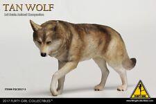 "CRIMSON Heroes Animal 1:6 Model Toy FLIRTY GIRL Tan Wolf Companion F 12"" Figure"