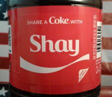 Share A Coke With Shay 2018 Limited Edition Coca Cola Bottle