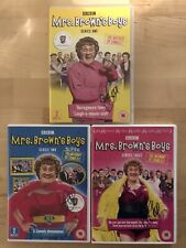 More details for mrs browns boys - brendan o'carroll - 3x signed dvds - series 1, 2 & 3 **proof**