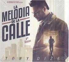 SEALED Tony Dize CD NEW La Melodia De La Calle 3rd Season BRAND NEW