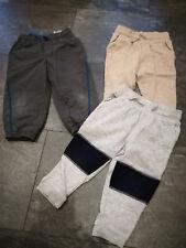 3 Jogginghosen von H&M Gr. 80 Thermohose grau beige dunkelgrau bequem TOP