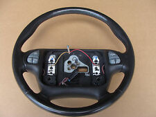 00-02 Firebird Trans Am WS6 Ebony Steering Wheel Radio Control Option 050316