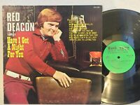 Red Deacon Have I Got A Night For You EX NASH TOWN private country RARE SIGNED