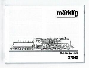 MARKLIN 37848 2-10-0 HO Steam Locomotive, a 1954 Class 50 Dampflokomotive