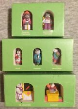 Department 56 Hide-a-way Hollow figurines Easter Pewter Bunny Hideaway Lot