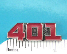 401  engine - hat pin , lapel pin , tie tac , hatpin  red color GIFT BOXED