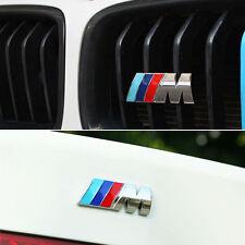 BMW M Set Grill scritta logo emblema RADIATORE 1 3 4 5 6 7 e Z X Mline m3 m5 m7