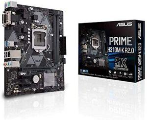 ASUS Prime H310M-K R2.0 Mainboard Sockel Intel LGA 1151 Micro ATX DDR4 USB 3.1