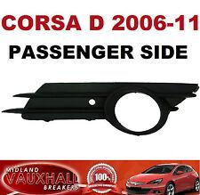 CORSA D 2006-11 FRONT FOG LIGHT GRILL SURROUND PASSENGER NEAR SIDE SXI SRI CDTI