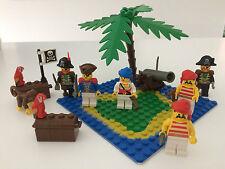 VINTAGE LEGO PIRATI-assortiti lotto comprende 6 minifigures, Palma + più