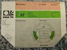 Fussball WM Ticket 1974 FINALE Deutschland - Niederlande