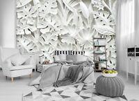 Albâtre Fleurs 3D Papier Peint Énorme Photo Mural Chambre Décoration