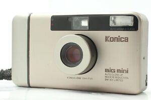 [Near MINT w/ Strap] KONICA BIG mini BM-301 Limited 35mm Compact From JAPAN