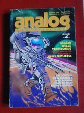 ANALOG FANTASCIENZA-Ed.Phoenix 1995 N° 3