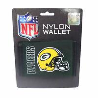 NFL Green Bay Packers Logo Nylon Tri-fold Wallet