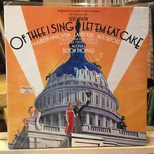 [BROADWAY/MUSICAL]~EXC 2 DOUBLE LP~OF THEE I SING/LET 'EM EAT CAKE~[1987~CBS]~