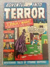Golden age comic adventures into terror # 3 Pre Code Horror 1951