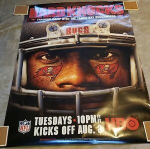 Tampa Bay Buccaneers Hard Knocks Poster LAST ONE